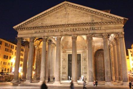 Pantheon from Piazza della Rotonda
