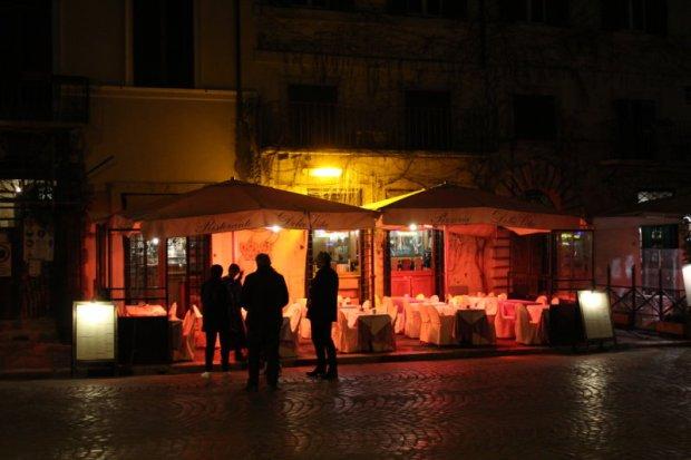 Rome's Centro Storico, Piazza Navona evening