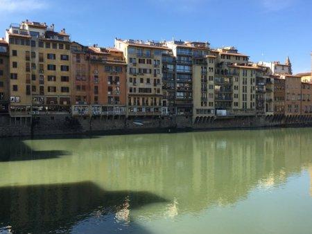 Ponte Vecchio view to Oltrano