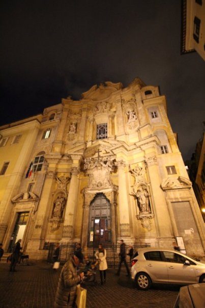 Rome Centro Storico in the evening