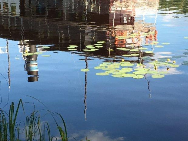 S/S Tarjanne reflection, Lake Näsijärvi