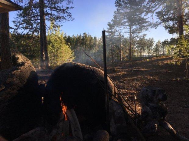 Campfire, Southern Konnevesi National Park