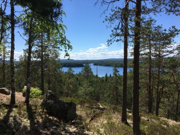 Loukkuvuori trail, Southern Konnevesi National Park