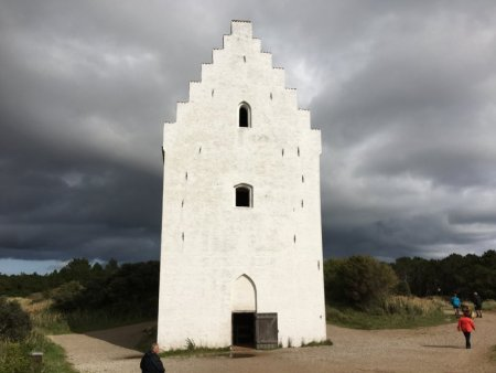 The sand-buried church, Skagen