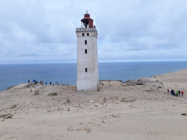 Places to visit in Denmark: Rubjerg Knude fyr