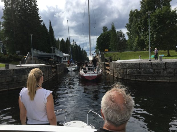 Entering the Murole canal