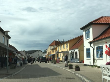 Lokken main street North Jutland