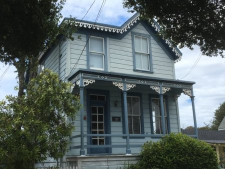 Pacific Grove Victorian house