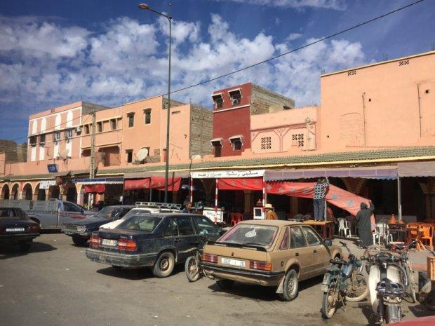 A roadside village, day trip to Essaouira, Morocco