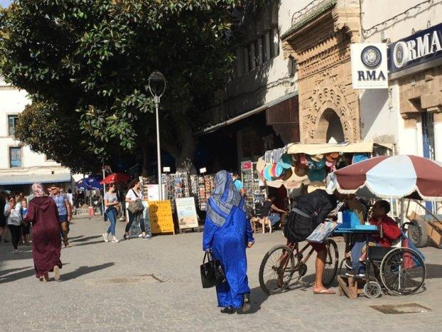 Blue colors of Essaouira