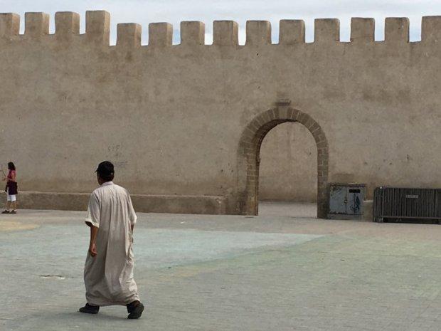 Essaouira city walls