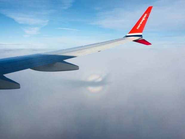 Flying across Europe