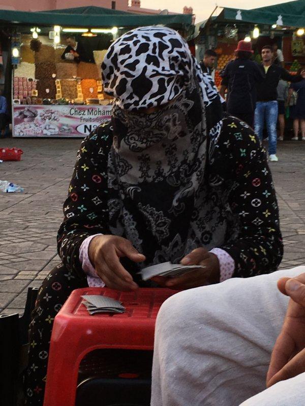 Jemaa el-Fna fortune teller