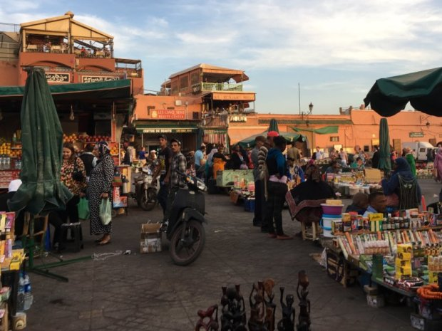 Things to do in Marrakech: visit Jemaa el-Fna