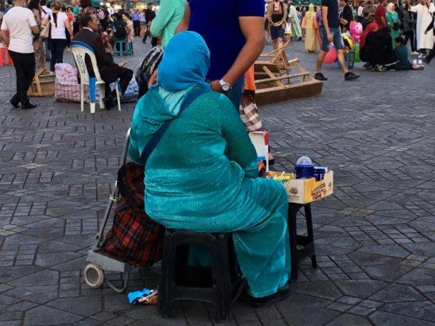 Jemaa el-Fna street seller