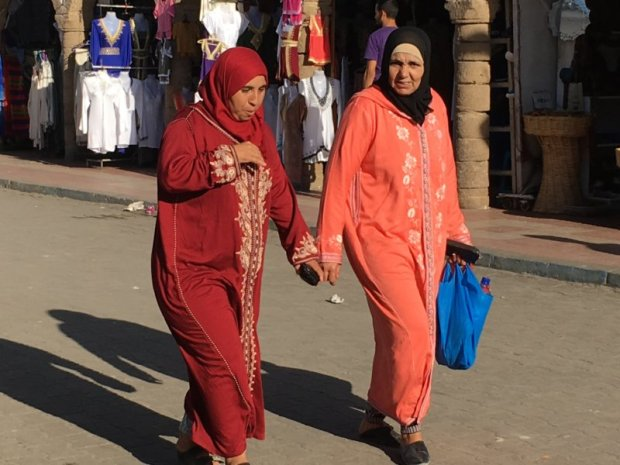 Local women, Essaouira