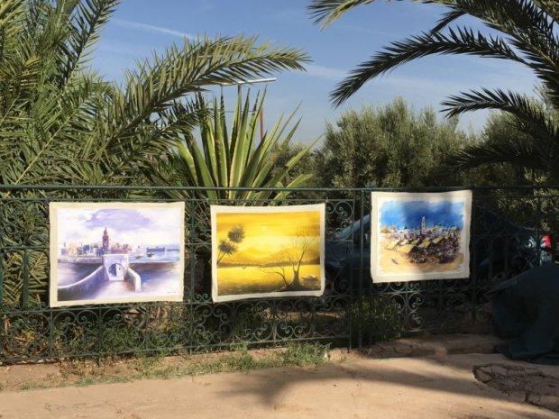Menara Gardens paintings