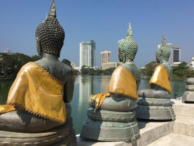 Buddha statues, Colombo