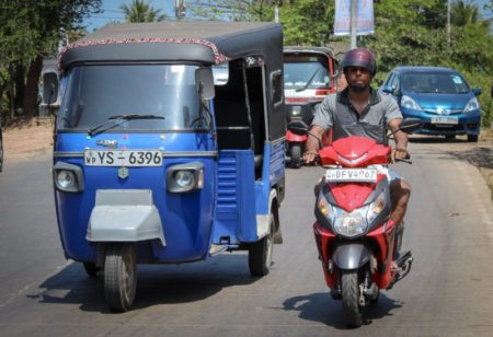 Sri Lanka West Coast traffic