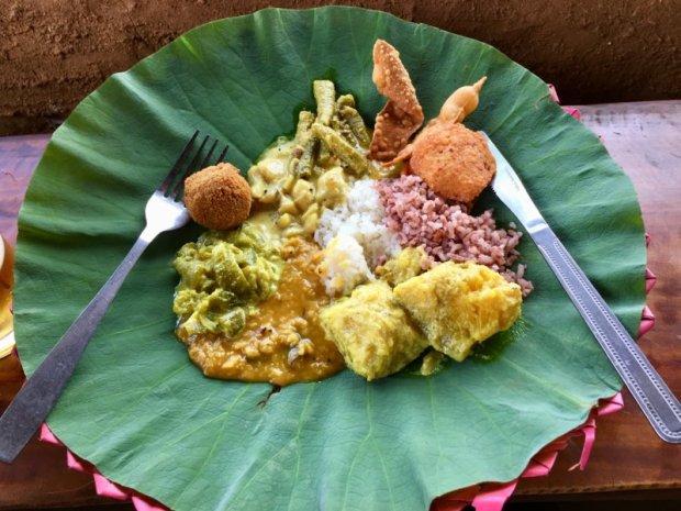 Sri Lankan village lunch