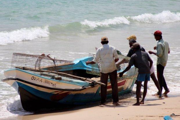 Trincomalee fishermen