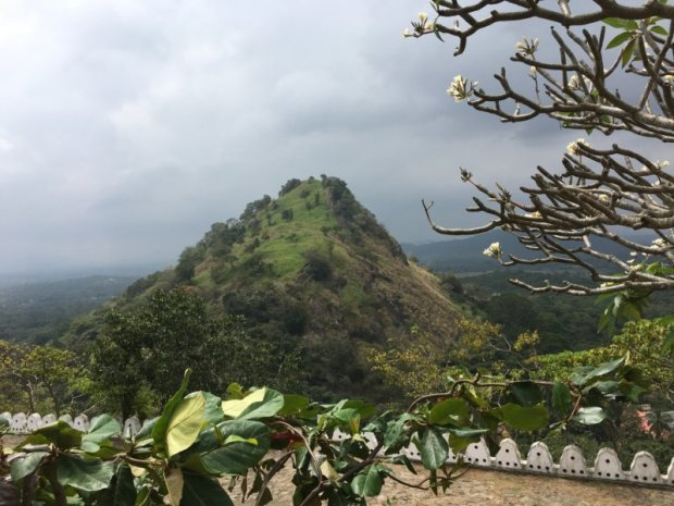 View from Dambulla Cave Temples