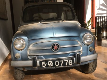 Chaminrich homestay museum car