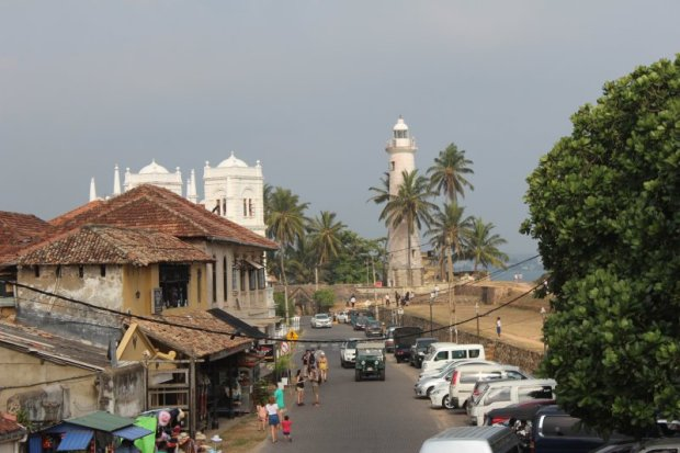 Galle Dutch town and lighthouse
