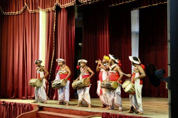 Kandyan dance drumming