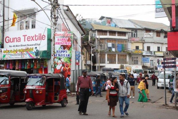 Nuwara Eliya city life, Sri Lanka
