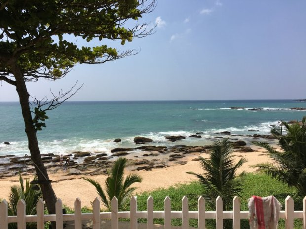 One of Sri Lanka South Coast beaches