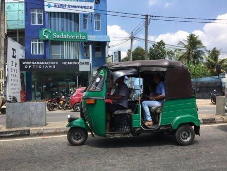Sri Lankan three wheeler