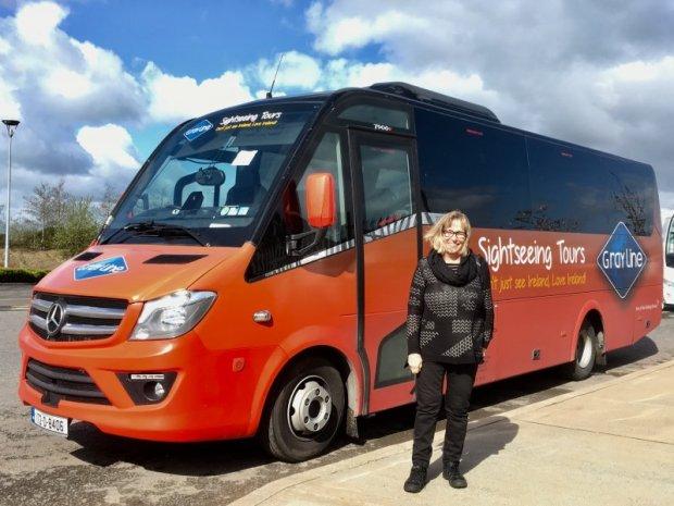My Gray Line tour bus