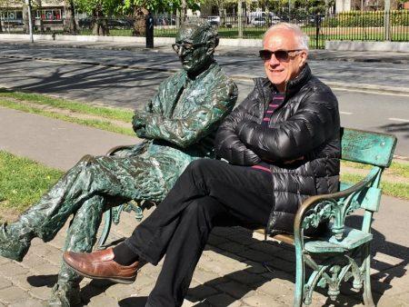 Rowan Gillespie statue, self-guided Dublin walking tour