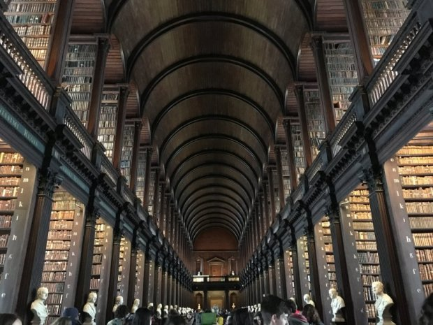Self-guided Dublin walking tour,Trinity College Library