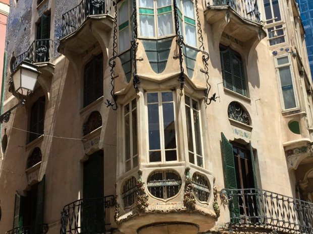 Can Rei modernist building, Palma de Mallorca