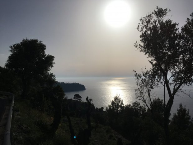 Driving from Deia to Soller