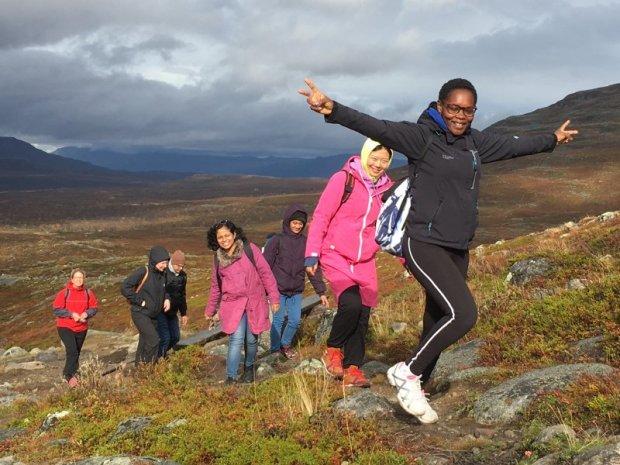 Hike to Saana fell, Kilpisjärvi