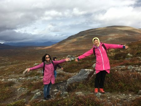 Autumn trip to Lapland, hiking in Kilpisjärvi
