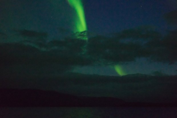 Northern lights of Kilpisjärvi, Lapland