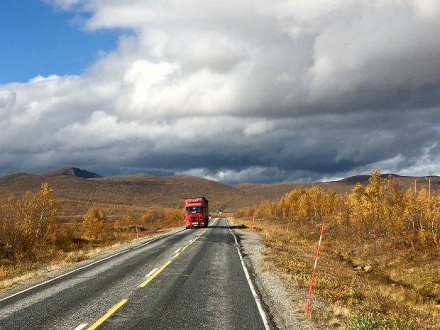 Lapland truck traffic