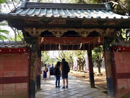 Gate to Tosho-gu Shrine