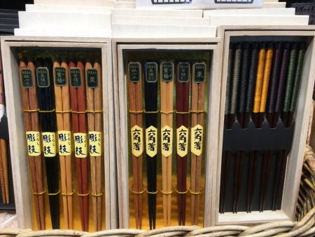 Japanese chopsticks, Nakamise-dori