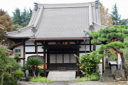 One of the many Yanaka temples
