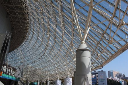 Tokyo Dome glass roof
