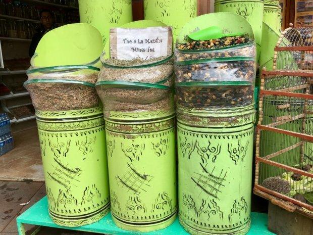 Herb shop, Mellah, Marrakech
