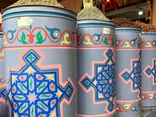 Herb shop, Marrakech