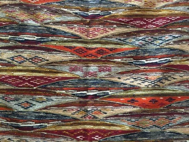Moroccan carpet in the souks of Marrakech
