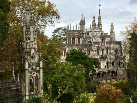 Palaces of Sintra by bus: Quinta da Regaleir