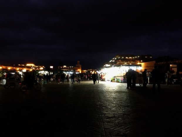 UNESCO listed Jemaa el-Fna, Marrakech